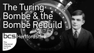 The German Enigma, the Turing British Bombe and the Bombe Rebuild, Alan Wray Thumbnail